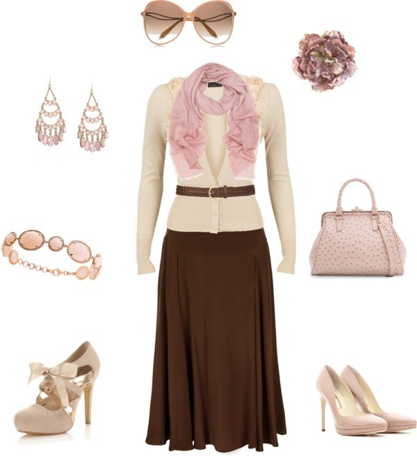 25  best ideas about Brown outfit on Pinterest | Body con dress ...