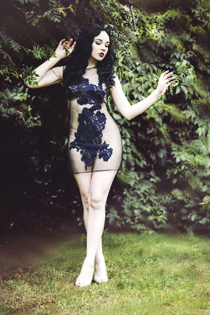 """""""Lace dress""""Photo: Madame Dentelle Model: Karolina P Designer: Marta Buchholz Make up: Marta Buchholz"""