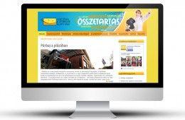 Lehetőség a Kitörésre általunk készített honlapja: http://www.lehetosegakitoresre.hu/