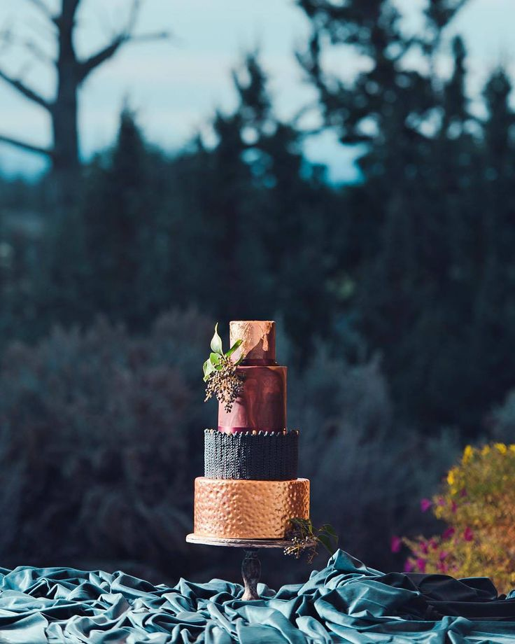Follow @cake_wedding for amazing cake insp Photo @foxtailbakeshop #wedding #weddingcake