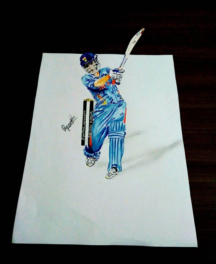 MS DHONI�� I have tried to draw him because many of you have suggested me to make a sketch of the Captain Cool... So here it is! Good luck to Team India for The Champions Trophy 2017! I will be posting a video too!  #msdhoni #dhoni #teamindia #india #sketchofdhoni #celebritysketches #cricketers #stars #championstrophy #icc #worldcup #wt20 #celebrity #indiawin http://tipsrazzi.com/ipost/1522718355583994935/?code=BUhyEbVjQw3