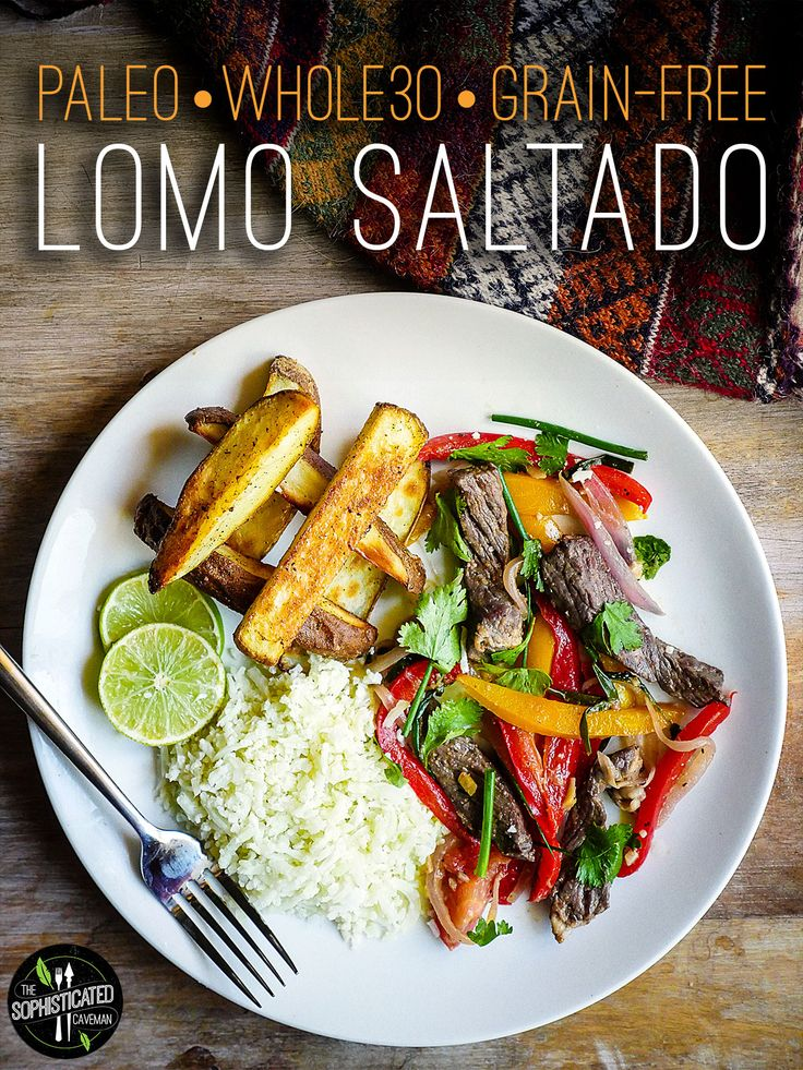 A Paleo, Whole30, and Gluten-free take on Lomo Saltado, a traditional Peruvian stir-fry. Simple to make, but loaded with flavor.