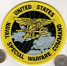 US Navy Patch UNITED STATES NAVAL SPECIAL WARFARE COMMAND SEAL FORCES. My Club During My Navy Tour With The USN. KB