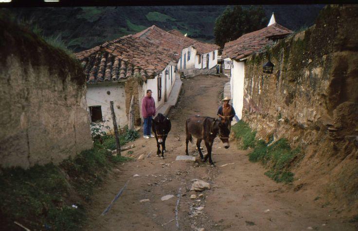 Dorpje in de Andes (Venezuela)