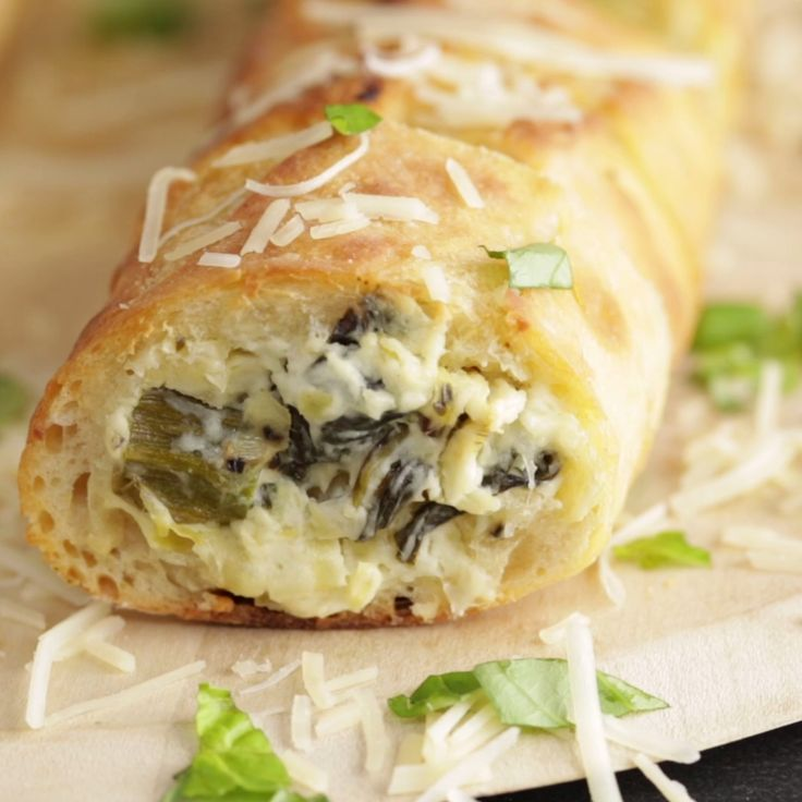 Next time you have company, bake the dip into the bread roll for a delicious appetizer!