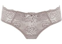 triumph luminous lace hipster in iced mocha