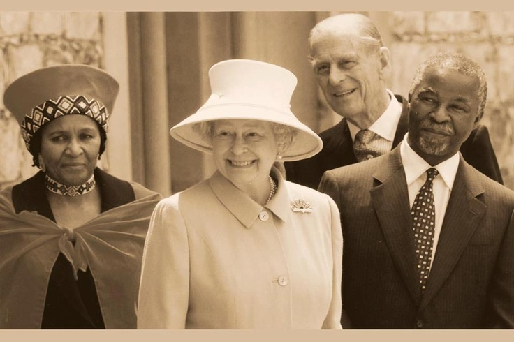 Uwe Koetter Jewellers' renowned designer, Johan Louw, created this iconic broach for the Queen!