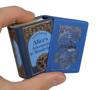 """Alice in Wonderland"" by Lewis Carroll - in miniature"