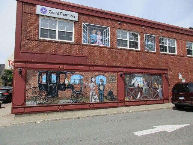 Beautiful mural, Antigonish, NS