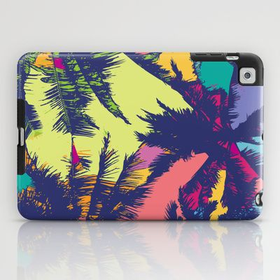 Palm tree iPad Case by PINT GRAPHICS - $60.00
