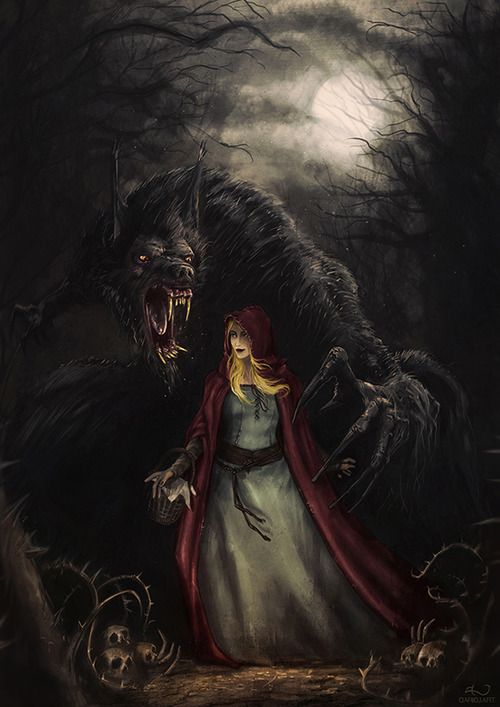 Dark Fairytales- Red Riding Hood and the Werewolf