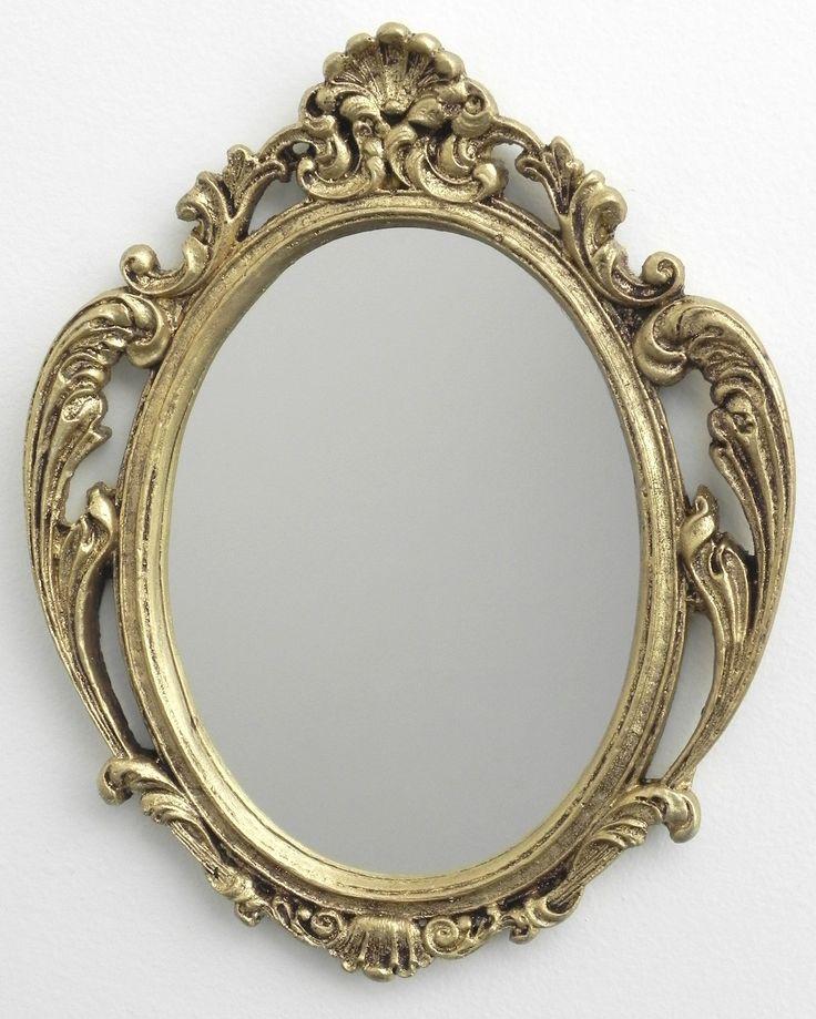 Espelhos Rococó Dourado - Decoração Casa   Casa da Mãe Joana