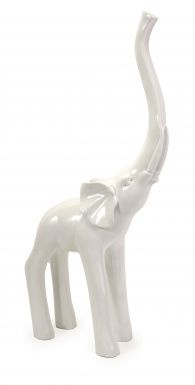 :: White Elephant :: feng Shui :: every home needs one, trunk up, facing the front door ::