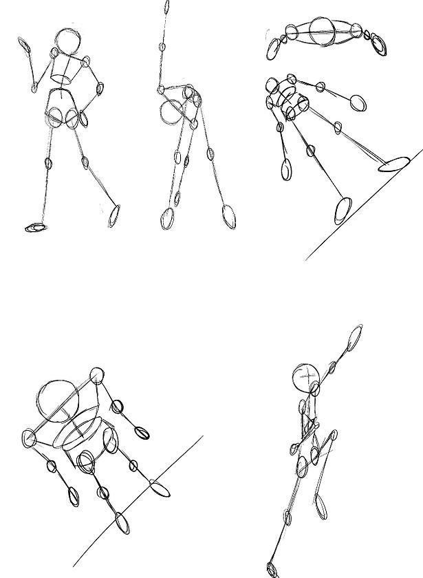 como dibujar figuras en movimiento - Buscar con Google