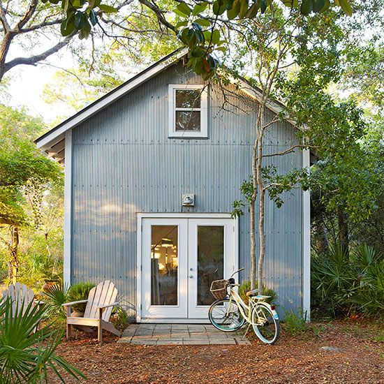 Metal Siding (like the look of this exterior, if using metal siding)
