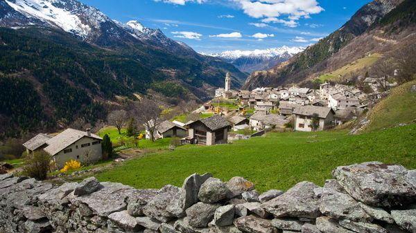 Soglio - Zwitserland Toerisme