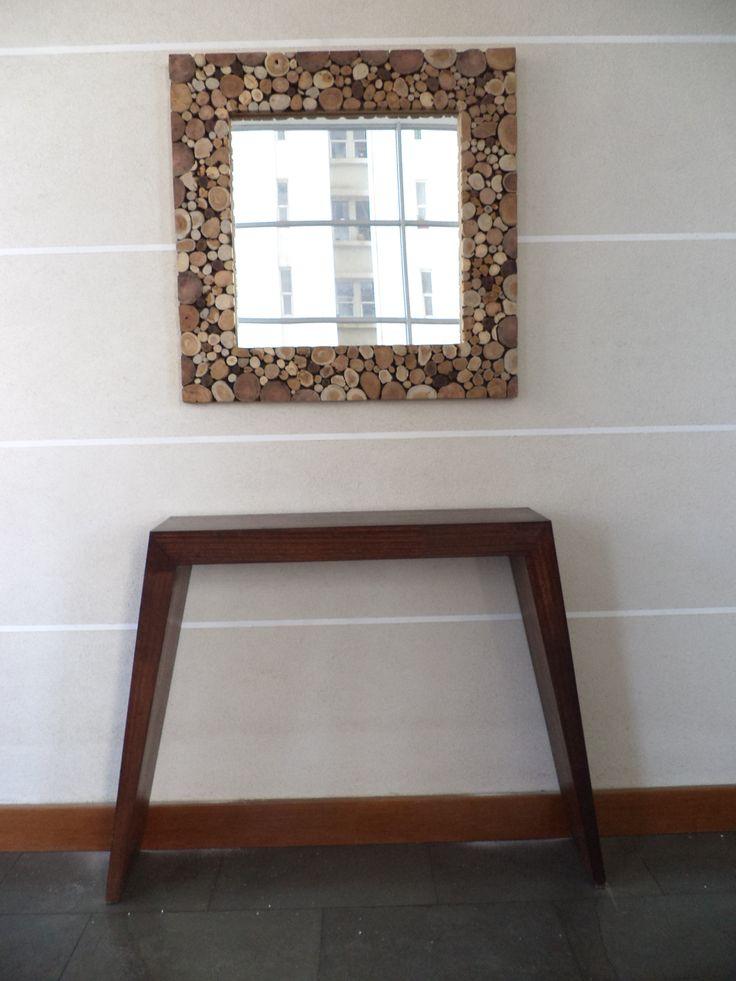 Marco madera artesanal