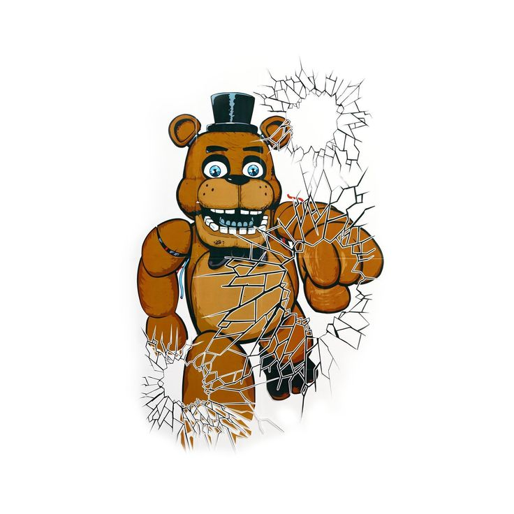Five Nights at Freddy's Window Clings Five nights at