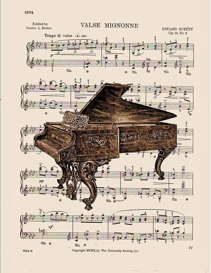 MI BAUL DEL DECOUPAGE: MUSICA