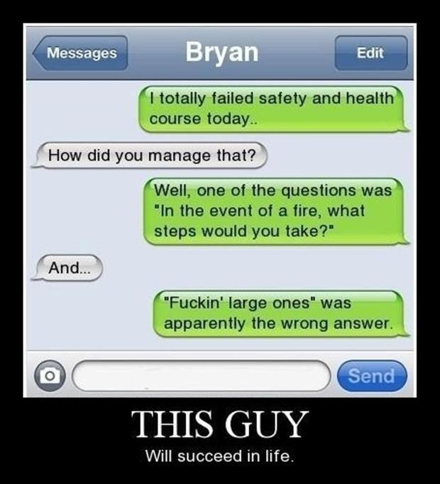 hahahahahaha, dying.