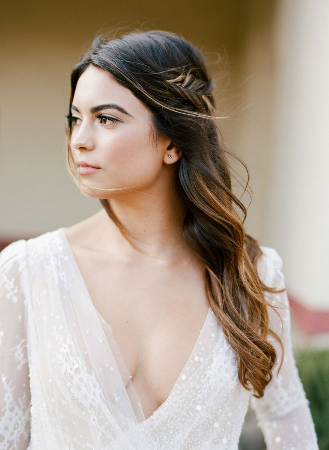 De moda peinados para ir de boda 2021 Colección De Tutoriales De Color De Pelo - Pin on Peinados