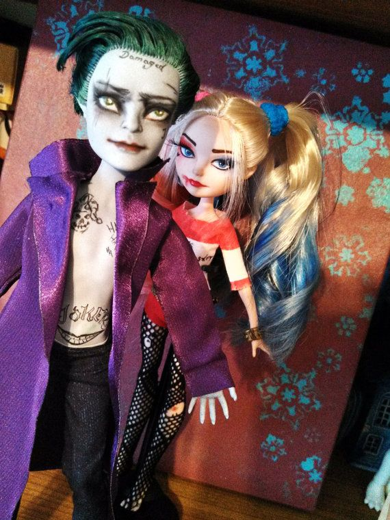 Jared Leto inspiriert Suicide Squad Joker - OOAK EAH