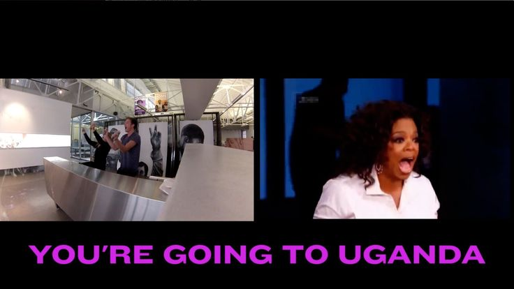 Oprah gives away huge prizes.... and so do we. You could be the next person to win a FREE trip to UGANDA and hear our best Oprah impression. // more info on www.zerolra.invisiblechildren.com