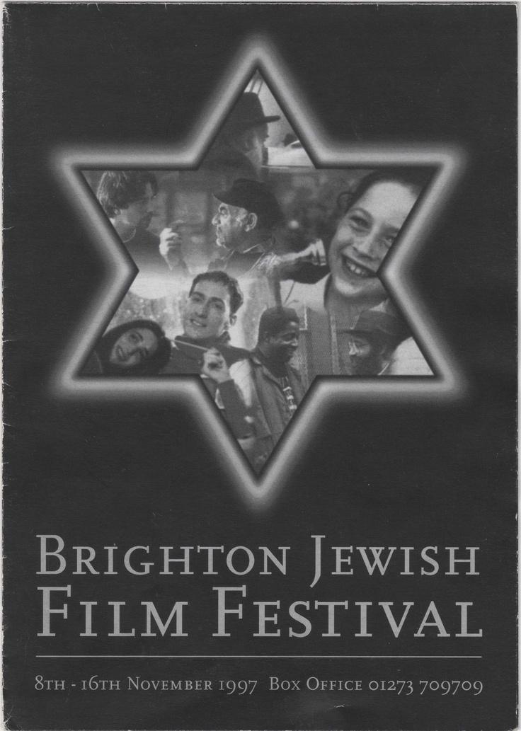 1997 Brighton Jewish Film Festival Programme Cover