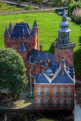 Kasteel Nijenrode in Holland