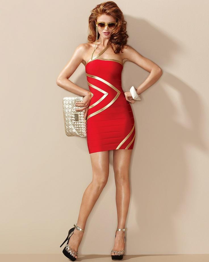 Vegas Outfit?!: Fashion, Foil Dress, Red, Style, Dream Closet, Bebe, Wardrobe, Cintia Dicker