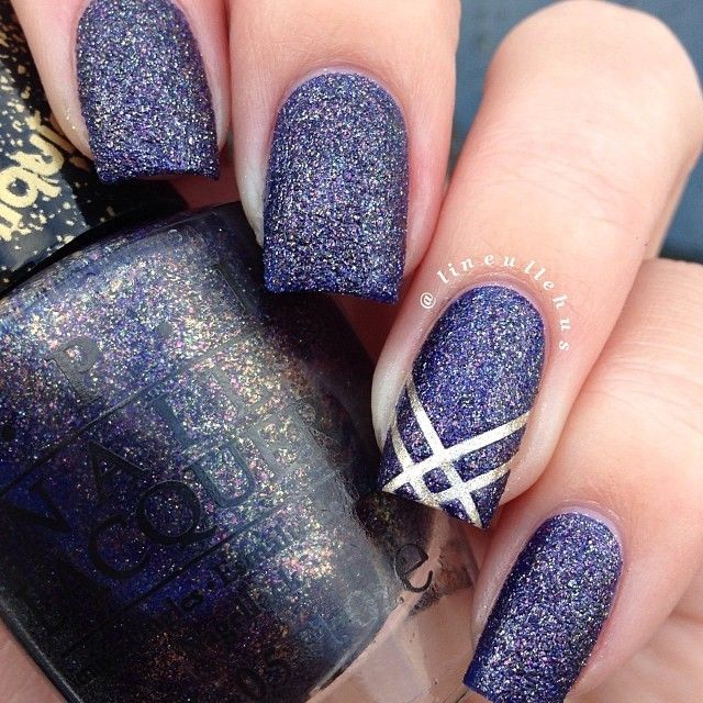 We love liquid sand nails--super cool to start seeing it in nail art - 75 Best Cool Nail Designs Images On Pinterest Make Up