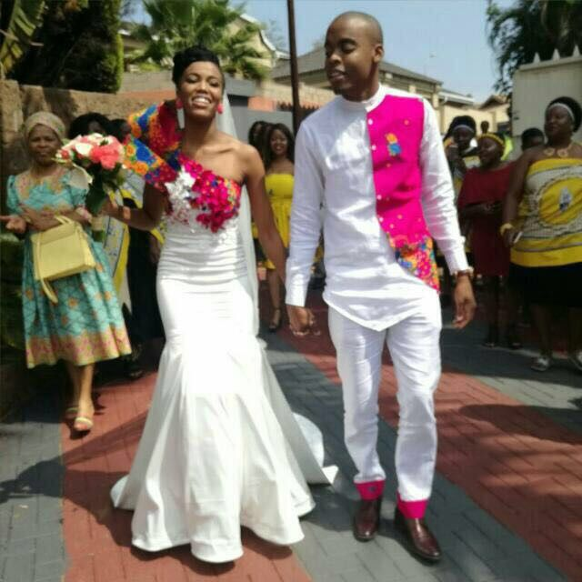 Tsonga traditional wedding with a modern twist
