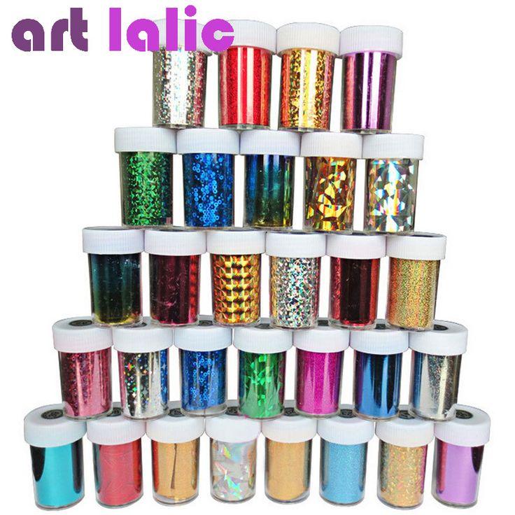 12 Adet Nail Art Transferi Folyo Sticker Kağıt DIY Güzellik Lehçe Tasarım Şık Tırnak Dekorasyon Araçları Rastgele Renk