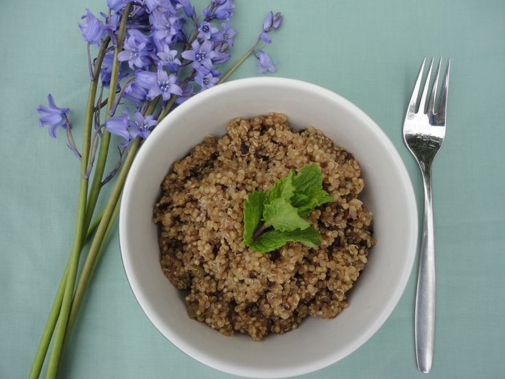 We think food can taste that much better when it is appealing to all senses.  www.quinoaquickies.com #delicious #quinoa #glutenfree #dinner
