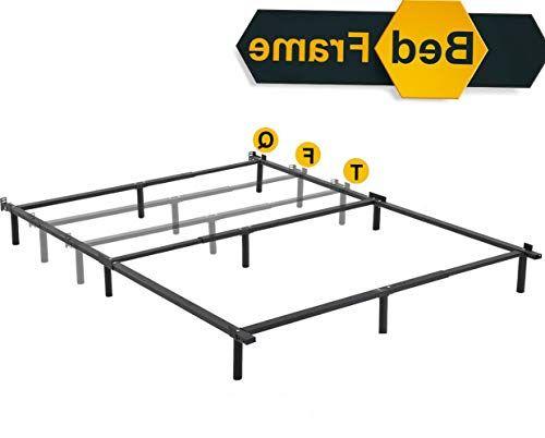 Dokis Platform Bed Frame Queen Mattress Foundation Metal Base