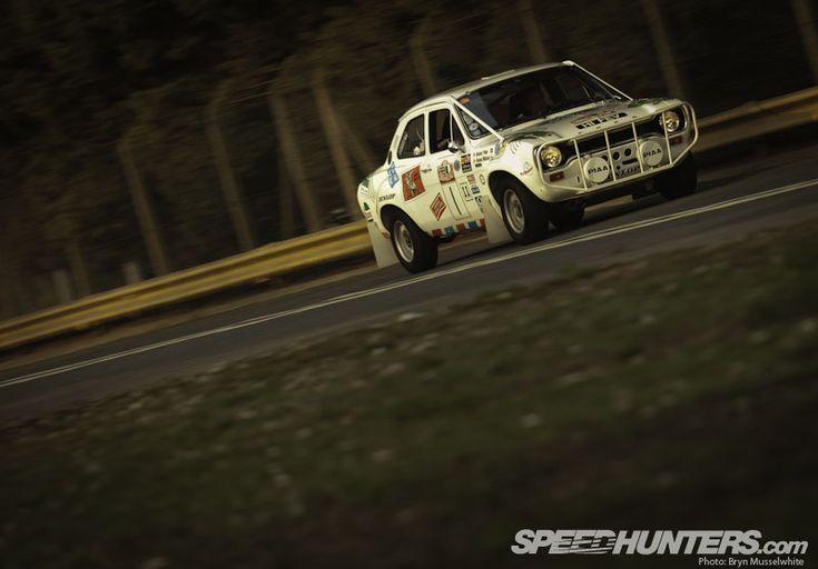 Escort Rally Car
