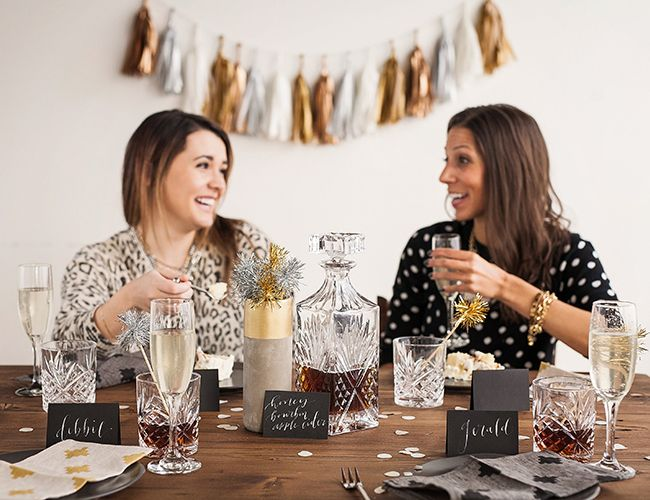 Throw this Metallic Cocktail Party at Home – Inspired by This