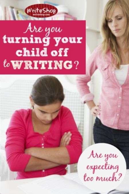 Your child hates writing! Do you expect too much independence? Give open-ended assignments? Focus on mistakes? These tips will encourage you!