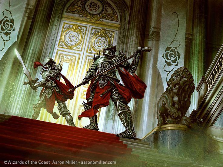 Palace Sentinels By AaronMillerdeviantart On DeviantArt