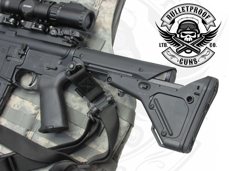 Bulletproof AR-15: Utility Battle Rifle (UBR) Stock - Single-point Sling