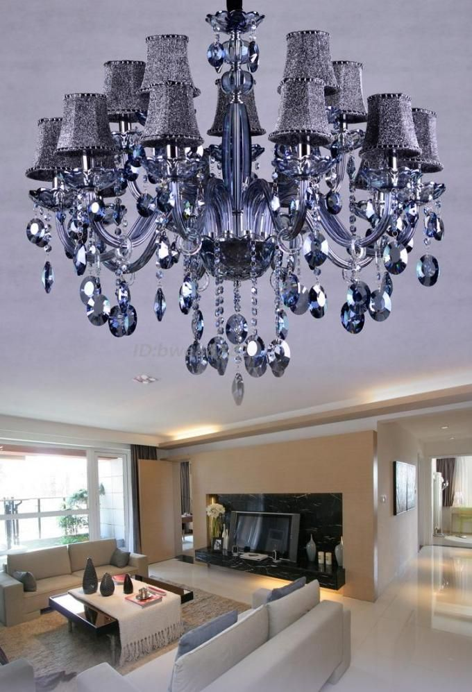 Italian Chandelier Grey Color For House Lighting Chandelier