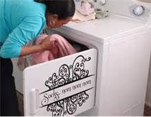 vinyl decals on washer and dryer - Bing Images