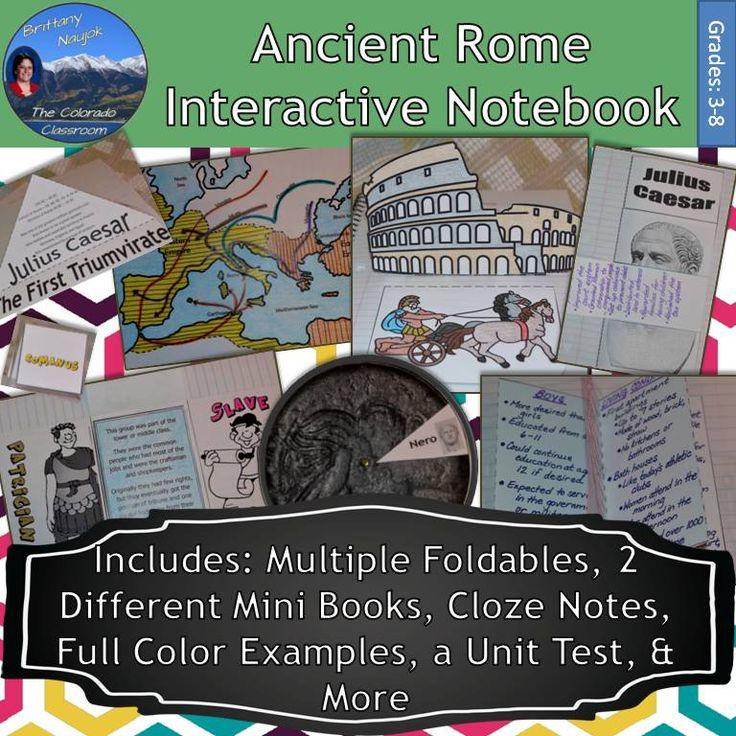 Sixth Grade (Grade 6) Roman Empire Questions
