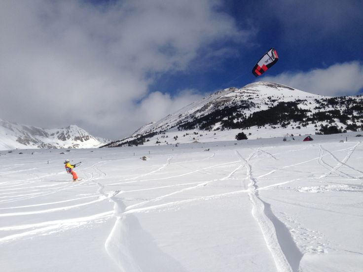 SnowKite Col de Porte Puymorens
