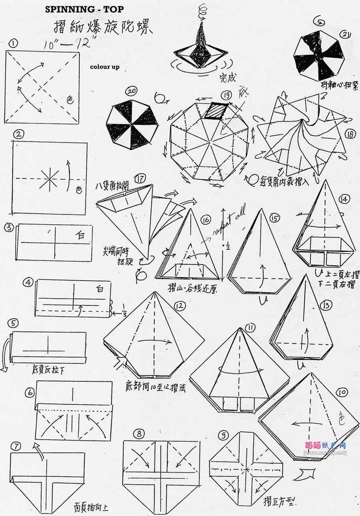 250 best Origami Articuláveis e Brinquedos - Origami toys images - hexaflexagon template