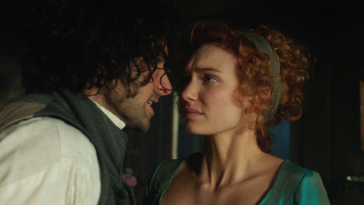 Ross and Demelza argue - Poldark: Episode 3 - BBC One // Ross loses his temper with Demelza and upsets her. As he tries to comfort her, the pair are both surprised by a passionate and scandalous kiss.