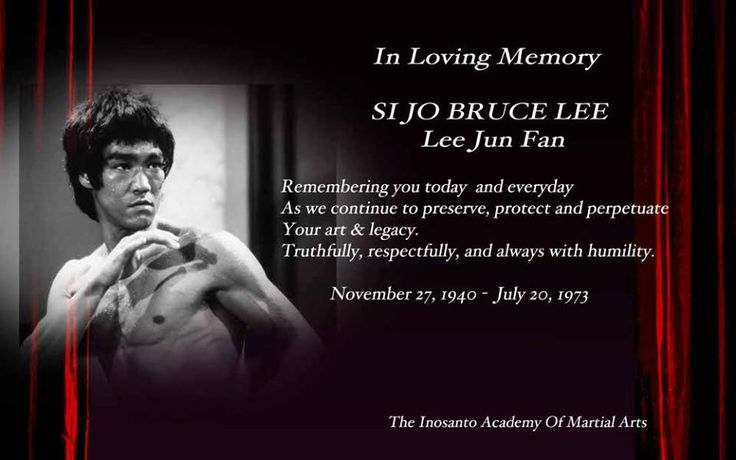 In honor of Bruce Lee. From Guru Dan Inosanto Academy