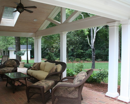 Traditional Patio Covered Patio Design, Pictures, Remodel, Decor And Ideas    Page 122