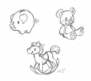 Cute Sketches.