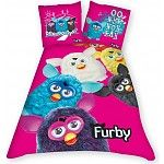 Furby Dekbed - Roze